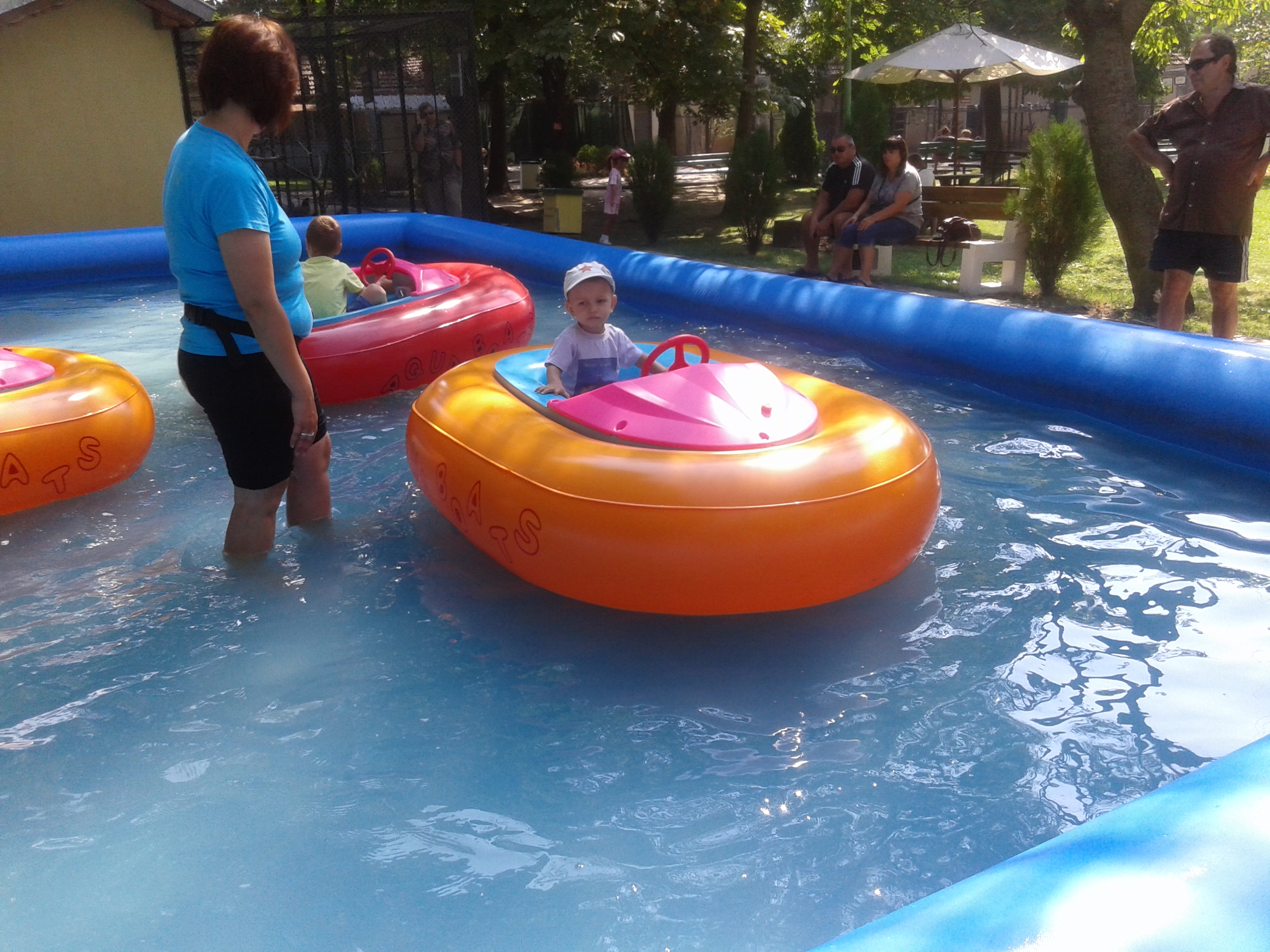 Inflatable pool for water ball or bumper boats waterball zorb electric boat bumper boat - Inflatable pool ...