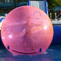 BDB 002надуваема топка за ходене търкаляне по вода - басейн topka cvetna 4ervena Златни Пясъци esfera acuatica 45