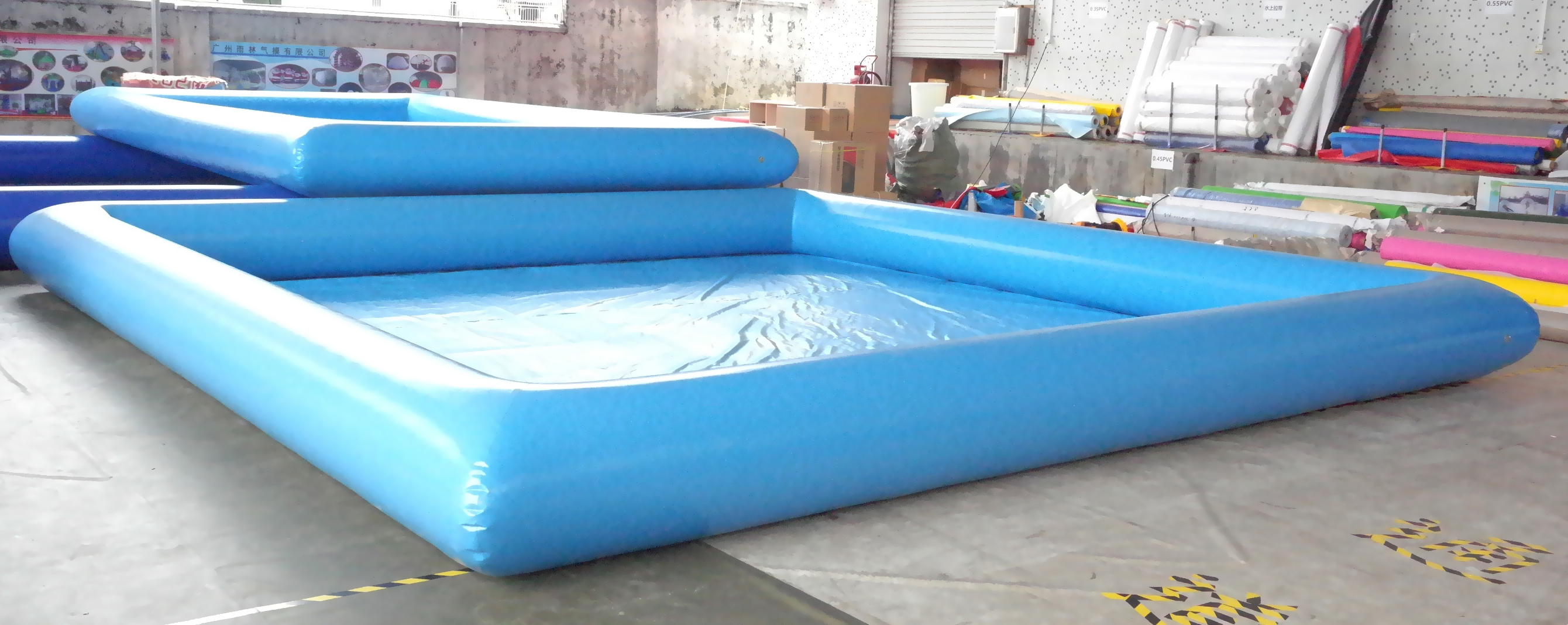 inflatable pool for water ball or bumper boats waterball