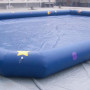 Inflatable pool for water ball or bumper boats