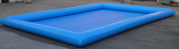Inflatable pool for water ball or bumper boats for Piscinas inflables