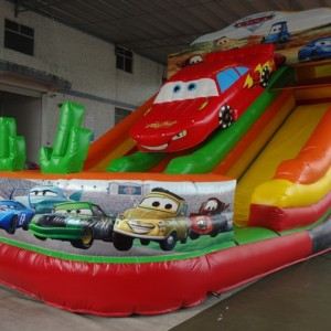 Inflatable Slide 8m on 6m