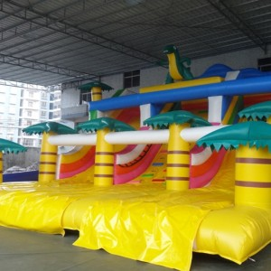 Inflatable Slide 9m on 6m on 6m