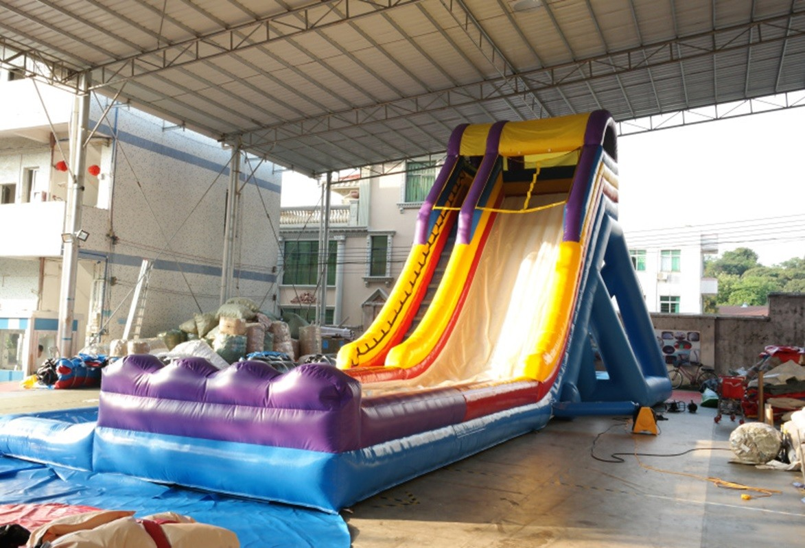 Inflatable Slide 14m on 6m on 6.5m