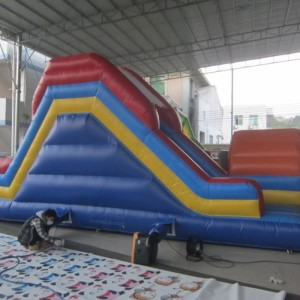 Inflatable Slide 8m on 4m on 4m