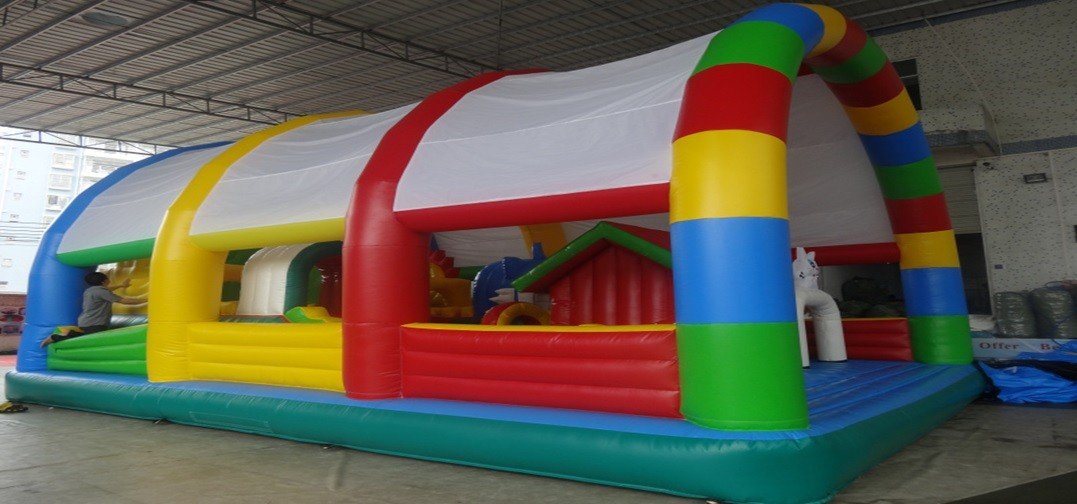 Inflatable Slide 12m on 6.5m on 4m