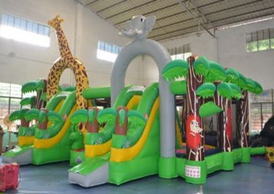 Inflatable Slide / bouncy castle 8x6x4m