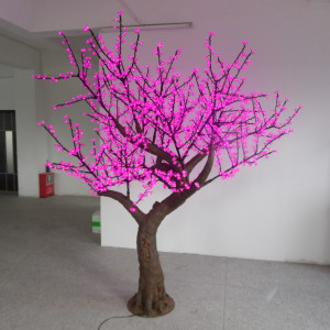 Led light simulated almond Tree