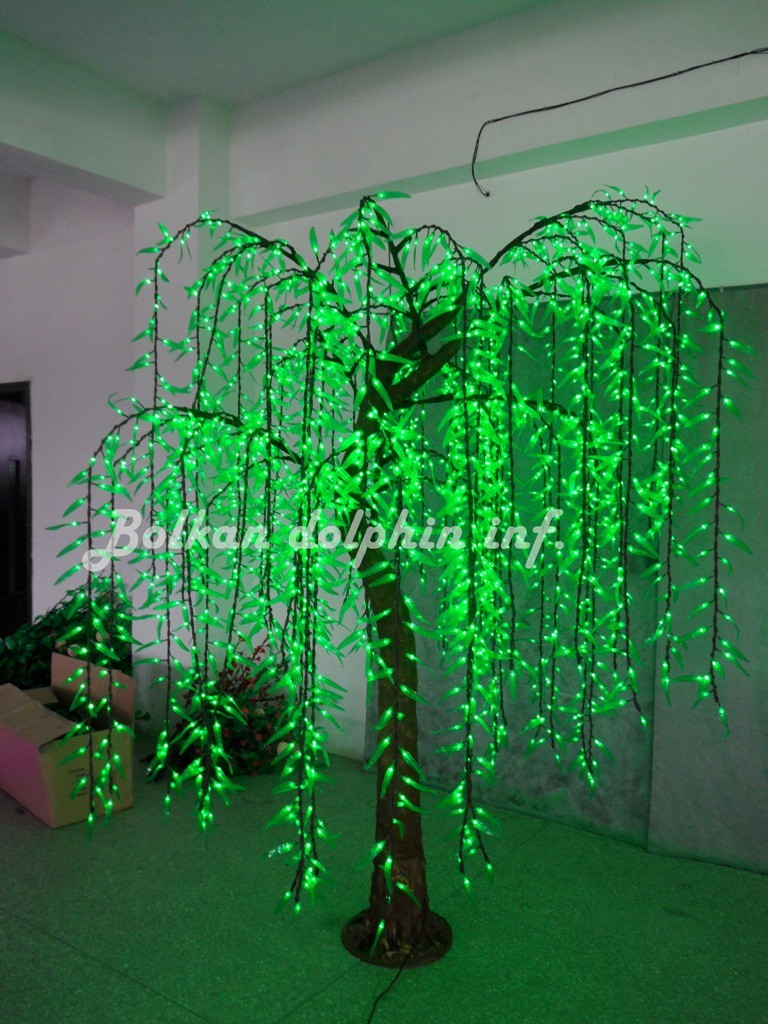Led light simulated Willow Tree