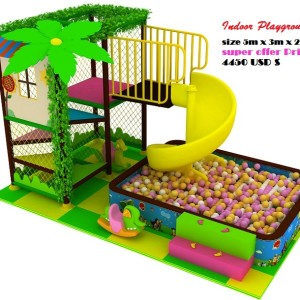 Indoor Playground for USA Standards