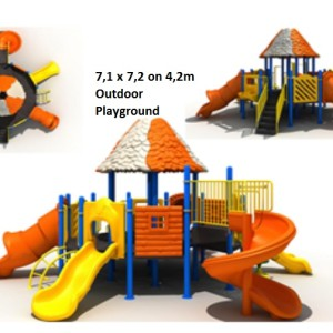 Outdoor Playground for USA standarts
