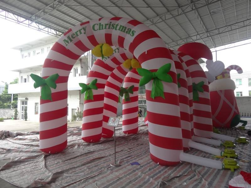 Inflatable chirstmas Arch / |Chrismas inflatable decoration