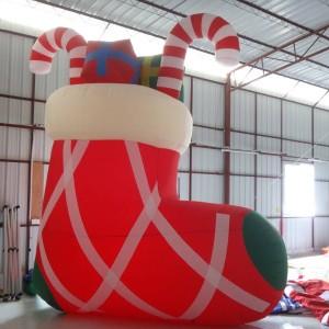 Inflatable Christmas Sock/christmas stocking