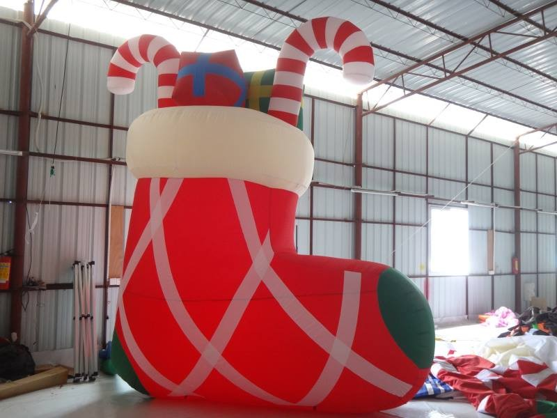 Inflatable Christmas Sock/christmas stocking