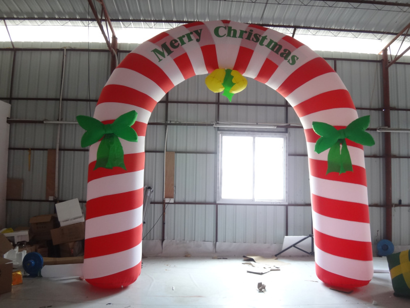 christmas arch,christmas inflatable decoration, | Bolkan - Dolphin