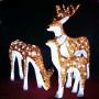 Garden_decoration_3D_Acrylic_deer_family_led