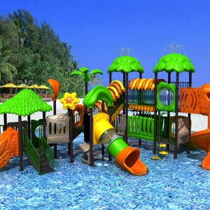 Outdoor water design Playground aqua playground