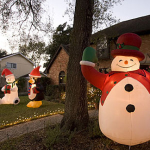 Inflatable Snowman Inflatable decor Christmas