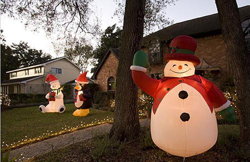 Inflatable Snowman Inflatable decor Christmas