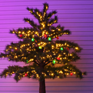 Cristmas Tree, Led simulated Christmas decoration