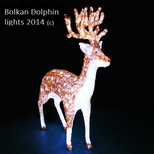 Led simulated Christmas Deer Christmas Decoration