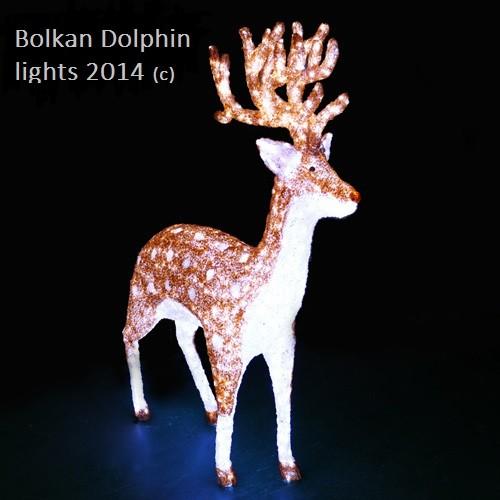 Led simulated Christmas Deer Christmas Decoration