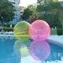 BDB 002 topka cvetna 4ervena, esfera acuatica ,hamster ball