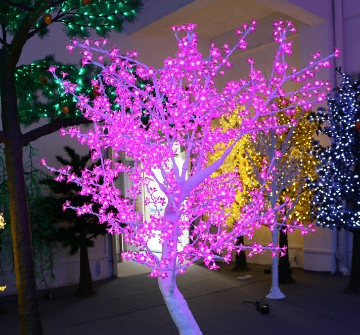 Led light simulated Tree (White Cherry)