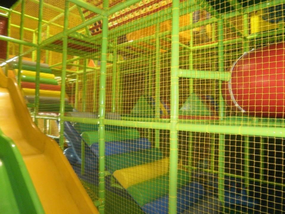 indoor playground area