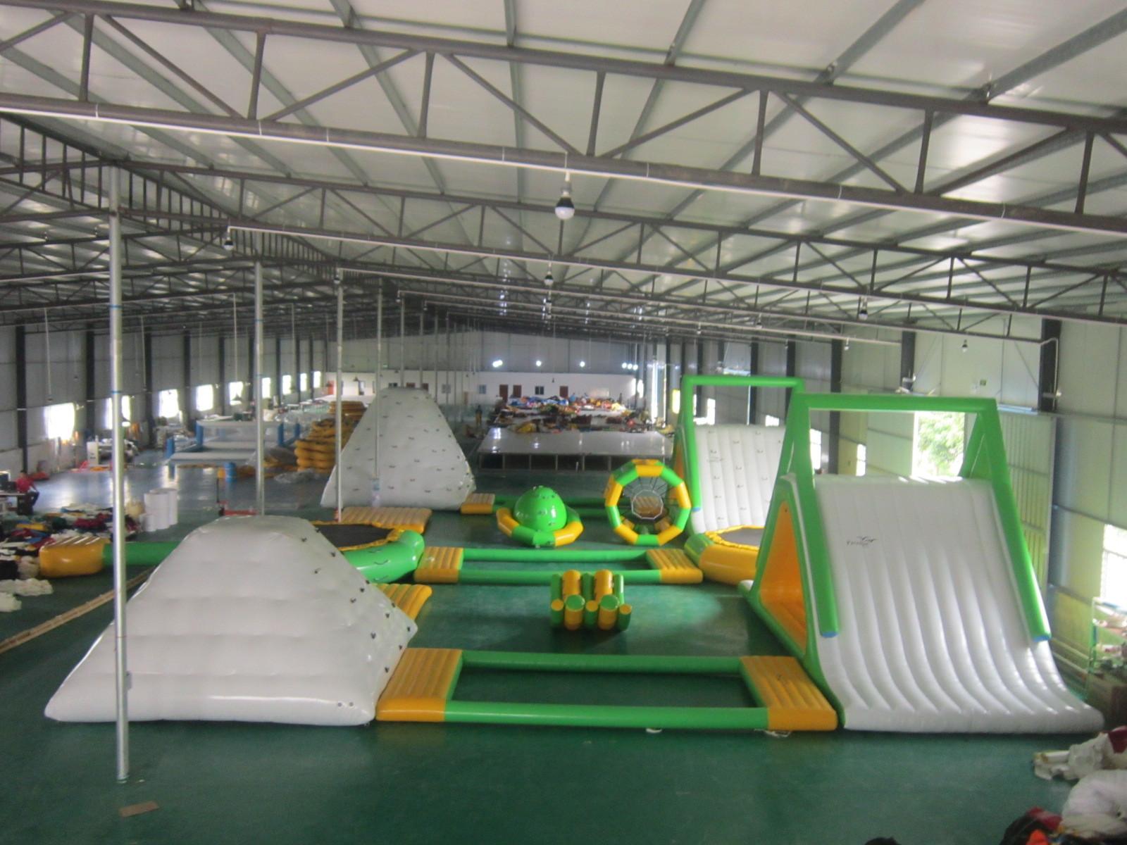 inflatable aqua park 22x16m